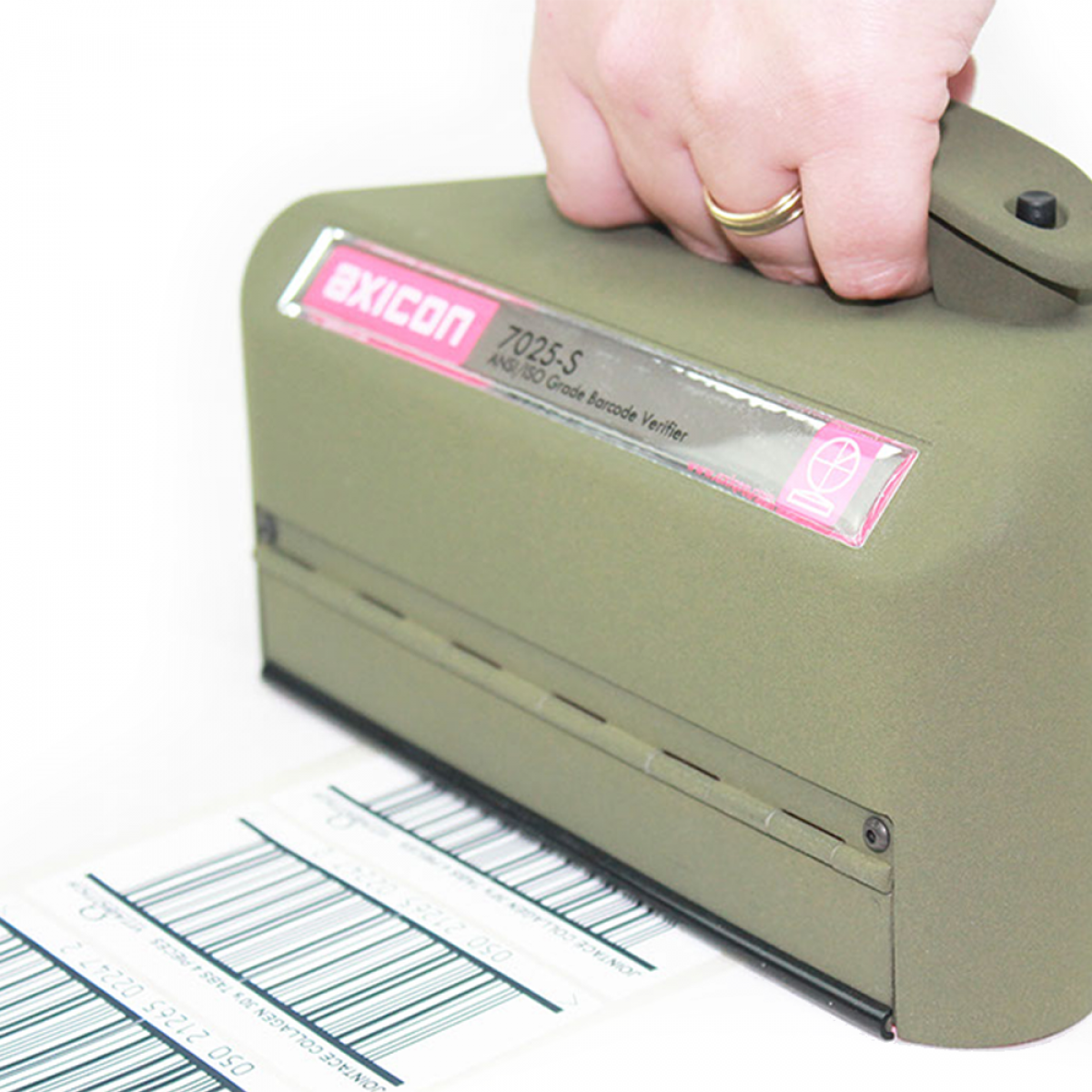 Axicon 7025-S verifier