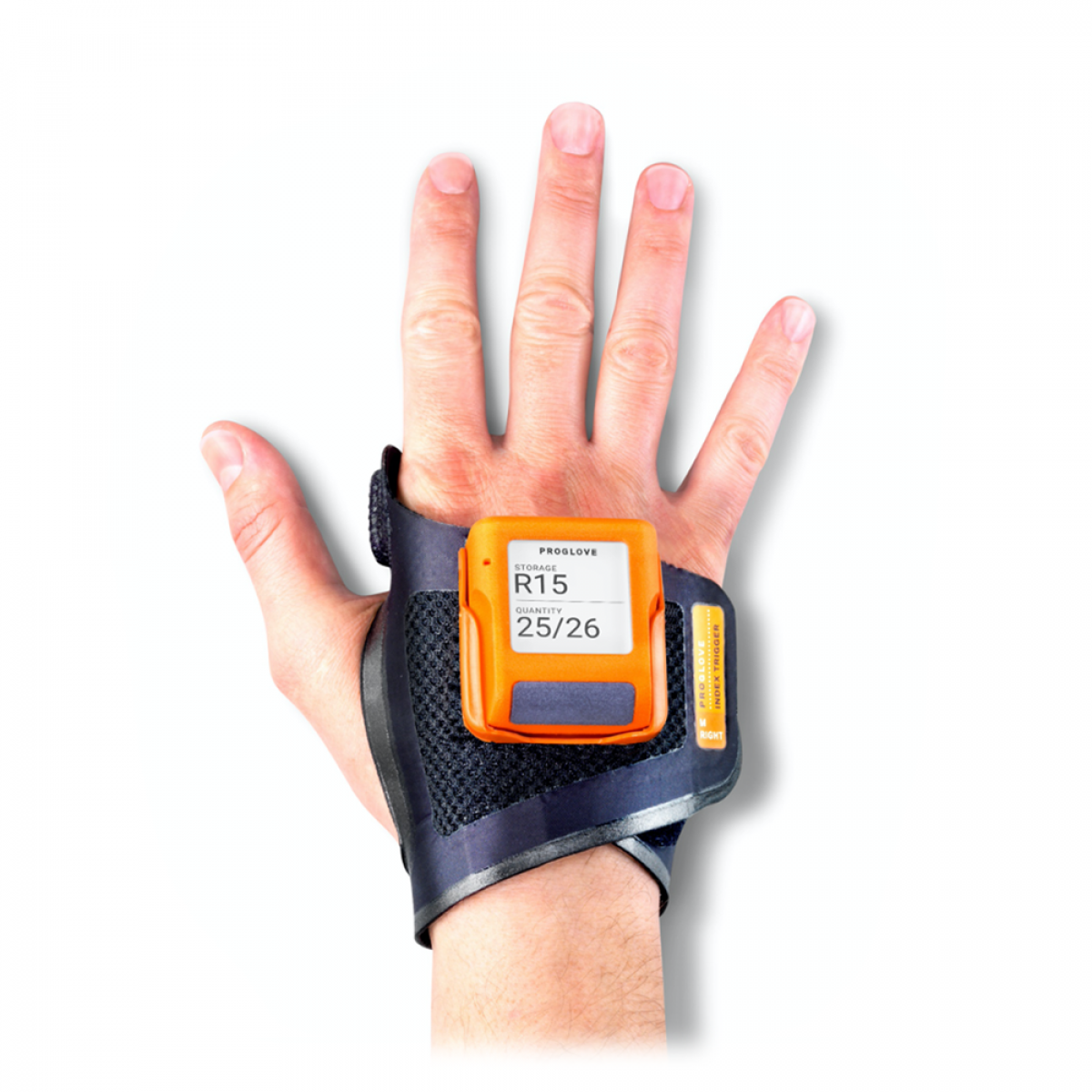 ProGlove wireless & wearable barcode scanner with display