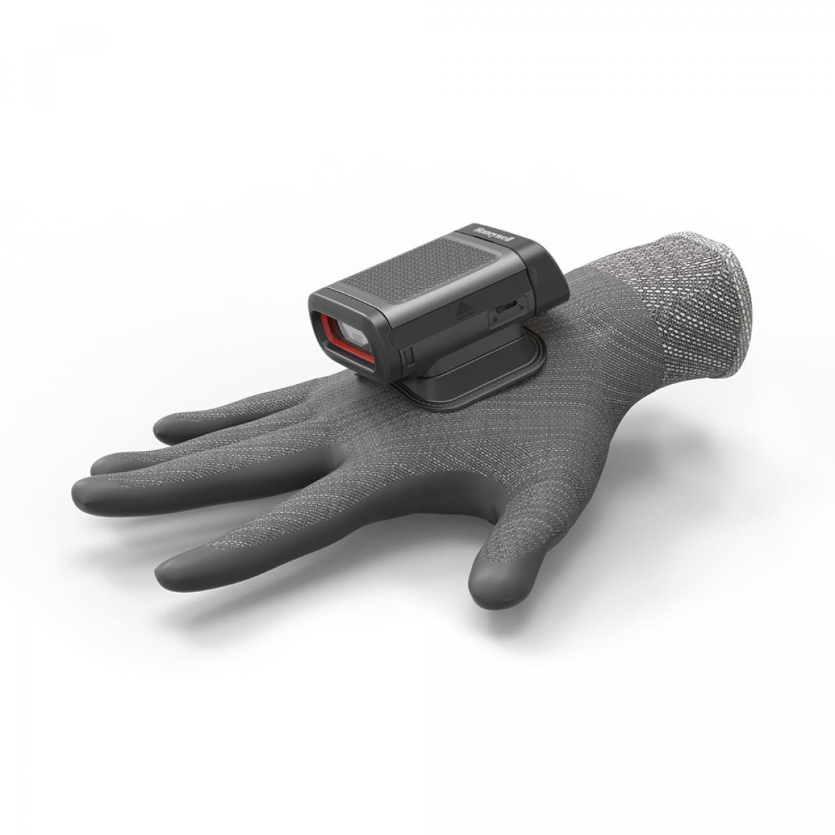 Wearable glove mount for-Honeywell 8680i ring scanner