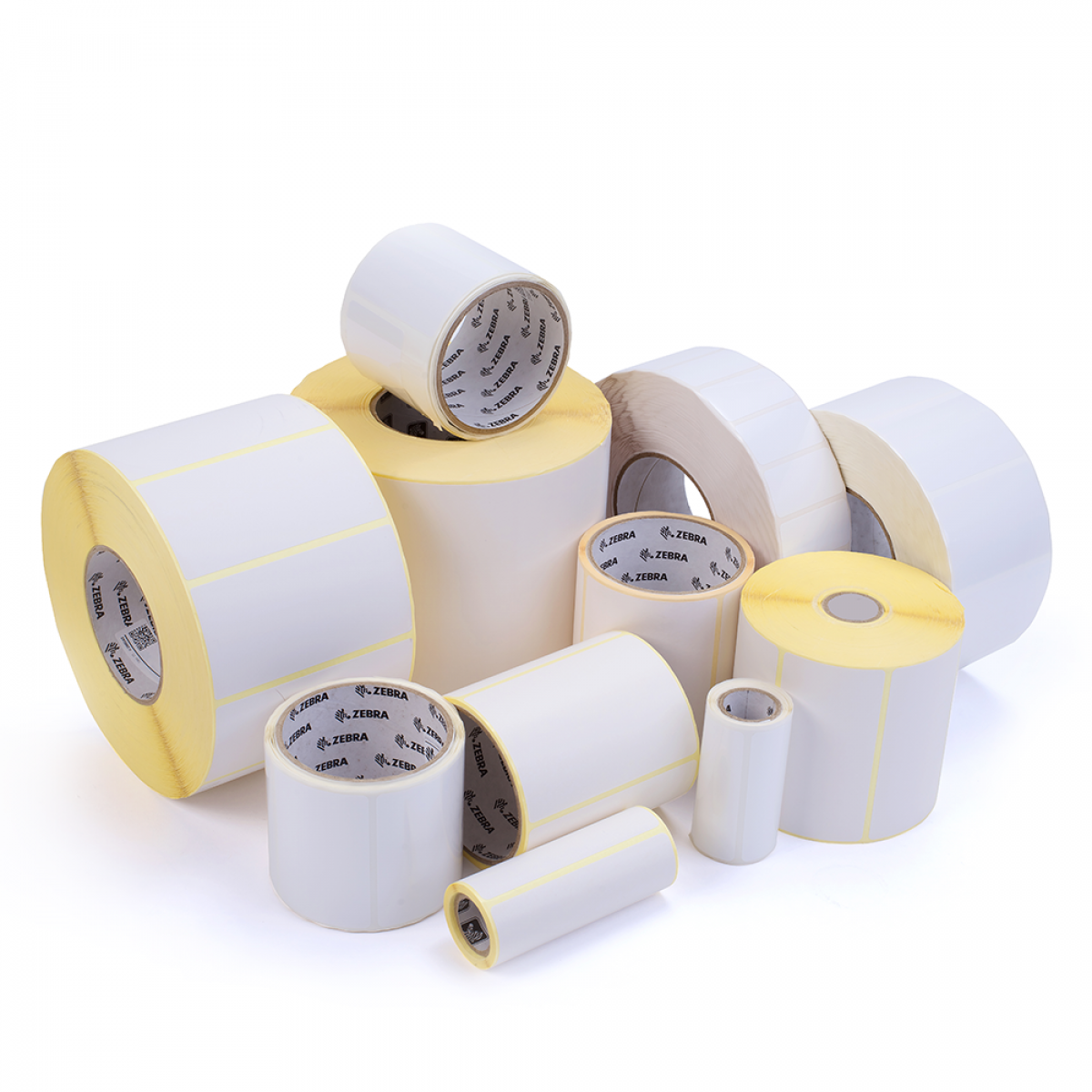 thermal-transfer and direct-thermal paper labels