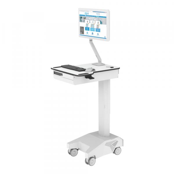 Dalen Healthcare Workstation on Wheels