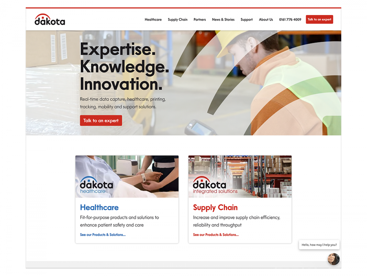 Dakota Integrated Solutions Launches Brand New Corporate Website