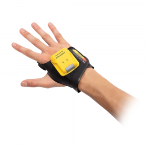 Wearable Datalogic handscanner worn on hand