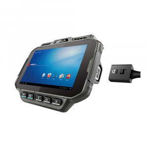 Unitech WD100 arm-wearable computer with cable